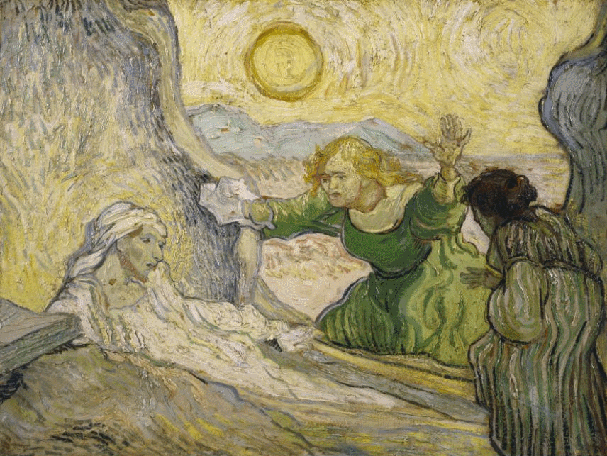 Raising of Lazarus, 1890
